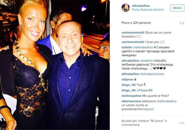 Сильвио Берлускони весело проводит время в Порто Ротондо (ФОТО)