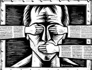 Il sito-killer dei giornalisti ucraino continua a funzionare (FOTO, VIDEO) / A favore del sito Peacemaker si schierano il ministro dell'Interno ucraino e i vertici del suo ministero