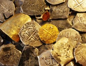 Tesoro di monete spagnole del XVII secolo trovato in Kubaň