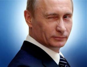 Vladimir Putin ha fatto l'occhiolino su Time Square a New York (VIDEO)