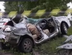 Nell'Estremo Oriente russo ragazza è stata decapitata durante un incidente stradale (VIDEO)