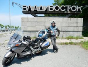Un biker di Murmansk attraversa la Russia in 37 giorni (FOTO)